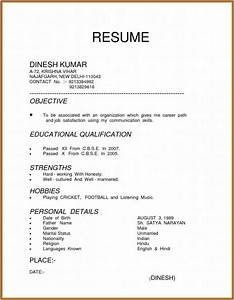 3 types of resume sample resume resume examples for How to type a resume