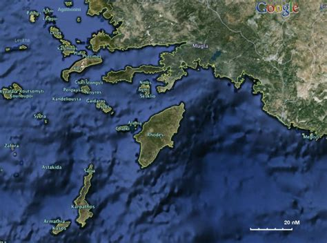 Sailing Wiki Greece by Dodecanese Imagemap A Cruising Guide On The World