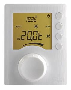 Thermostat D Ambiance Sans Fil Pour Chaudiere Gaz : thermostat d 39 ambiance avec molette tybox 33 6053002 ~ Premium-room.com Idées de Décoration