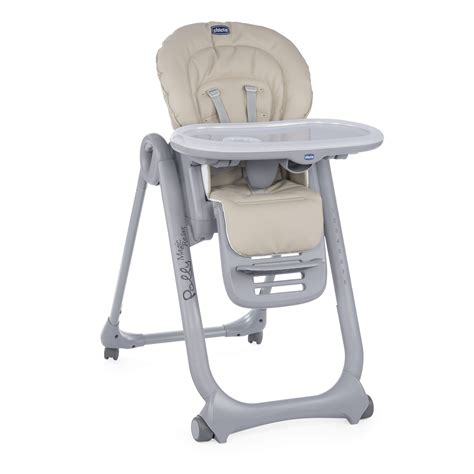 chicco chaise haute chicco highchair polly magic relax 2018 beige buy at