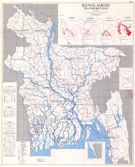 bangladesh roads map