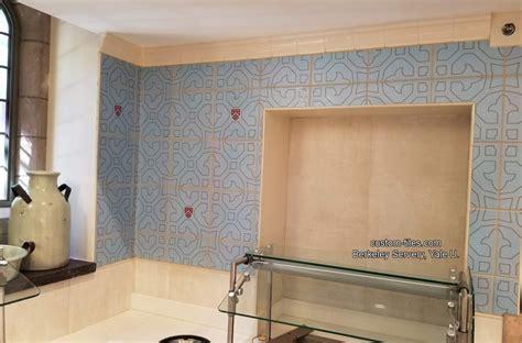 custom kitchen backsplash tiles kitchen backsplash tile mural custom tile and tile murals 6346