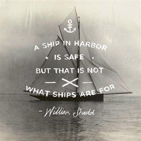 william gt shedd  ship  harbour  safe