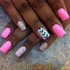 25 best ideas about Neon acrylic nails on Pinterest