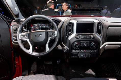 chevy silverado interior 2018 detroit auto show marks the start of the year of the