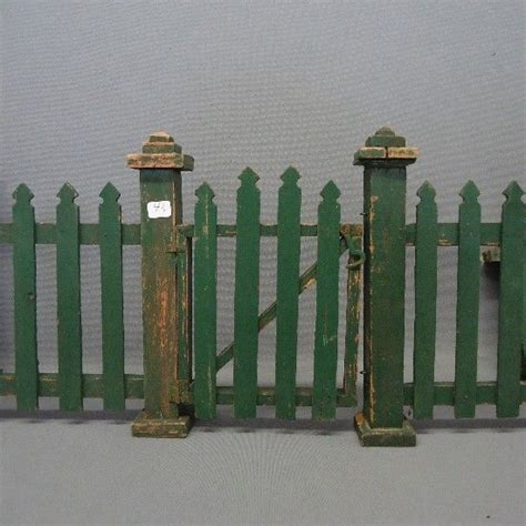 antique christmas fence decorative picket fence