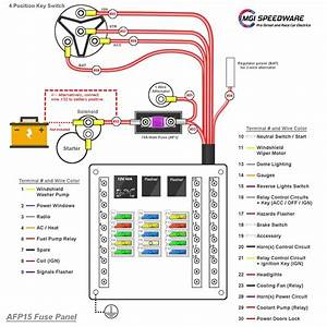 Automotive  Boat And Truck Fuse Box With 15 Fuses