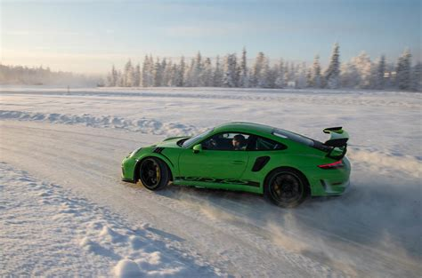 First Ride Porsche 911 Gt3 Rs 2018 On Ice Autocar
