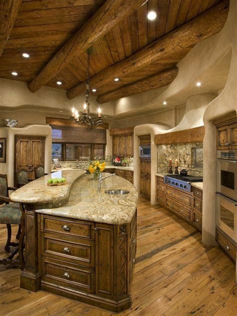 meuble cuisine rustique le meuble massif est il convenable pour l 39 intérieur
