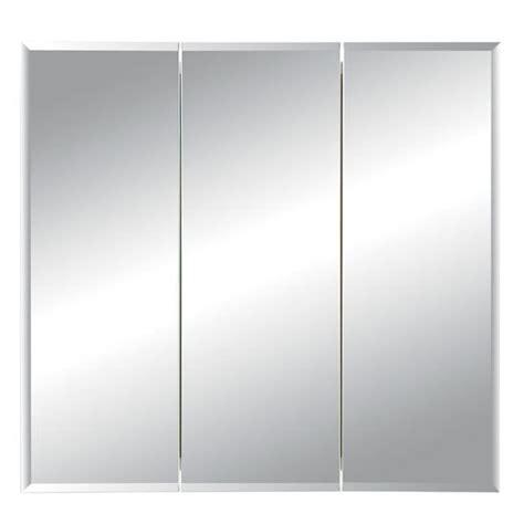 broan medicine cabinets formerly broan horizon frameless tri view