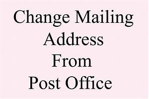 Change USPS mailing address from post office | USPS ...