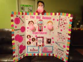 Bubble Gum Science Fair Project