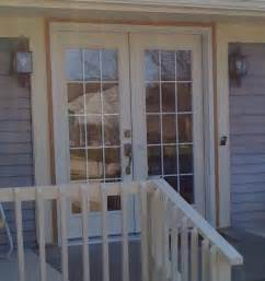 hurricane grade french patio doors with internal blinds