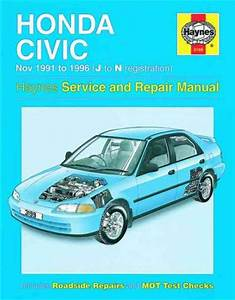 Honda Civic 1991 1996 Haynes Service Repair Manual Uk
