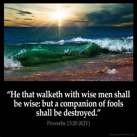 Proverbs 1320 Inspirational Image