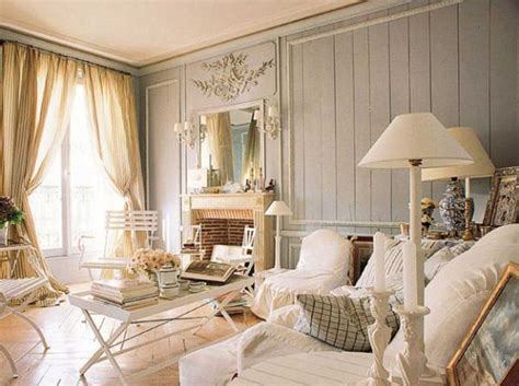 Home Decor Shabby Chic Style Living Room Ideas With White