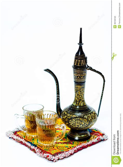 Arabic coffee pot stock photo. Image of kuwait, middle   36159122