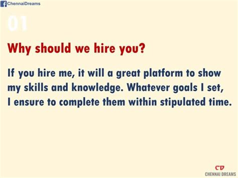 Why Should We Hire You Answers by 15 Questions And Answers To Help You The