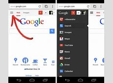 android List icon vs menu icon User Experience Stack
