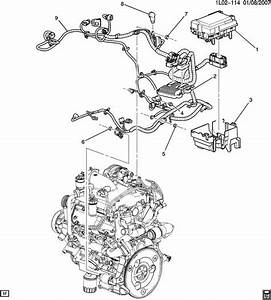 2008 Chevy Equinox Engine Compartment Diagram