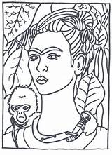 Portrait Self Coloring Pages Getcolorings Print sketch template