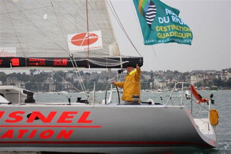 Boat Skipper Spanish by Skipper Airlifted By Spanish Navy In Route Du Rhum