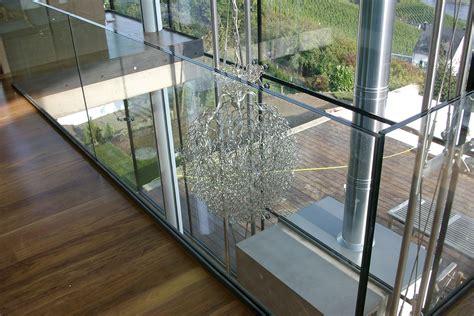 treppengeländer glas innen treppengel 228 nder metallbau roth