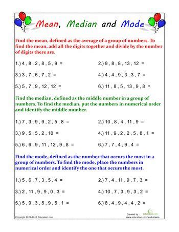 76 best images about math mean median mode range on pinterest activities fun math games