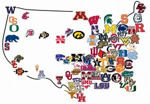 The Winningest College Football States in America: The ...