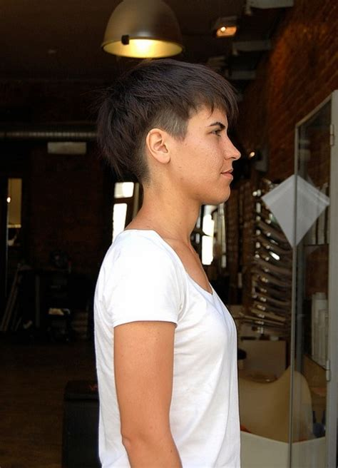 side view  trendy short haircuts  women hairstyles weekly