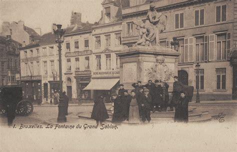 ebru la place du grand sablon en vieilles photos et cartes postales anciennes bruxelles