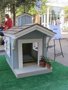30 dog house decoration ideas bright accents for backyard With painted dog house