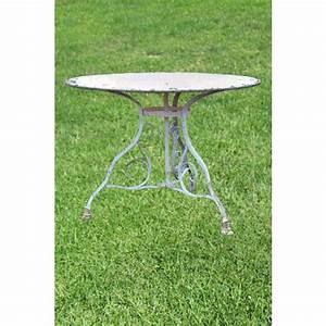 Table Jardin Fer Forgé : table jardin fer forge finest table jardin fer forg et ~ Dailycaller-alerts.com Idées de Décoration