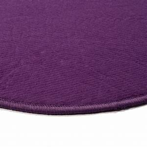 best tapis violet rond images awesome interior home With tapis rond aubergine