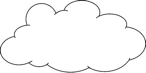 cloud clipart black and white white cloud clipart