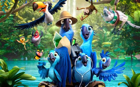 Rio 2 Animated Movie Amazing Hd Wallpapers 2015 All Hd