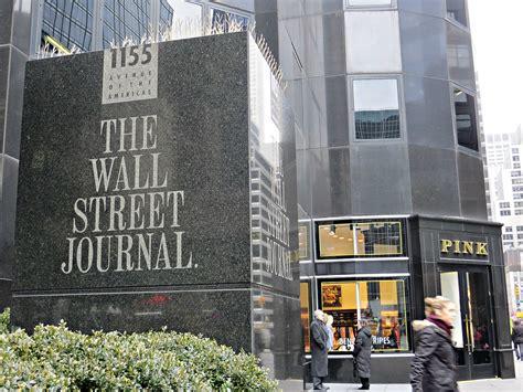 wall street journal corporate headquarters  avenue