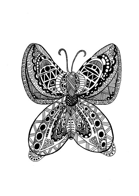 zentangle coloring pages  adults coloring page