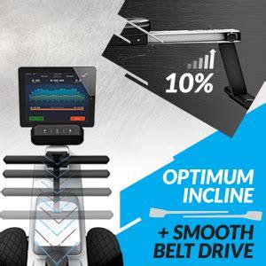Amazon.com : Bluefin Fitness Rower Machine Blade Home Gym ...