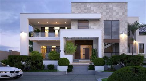 simple  beautiful flat roof house design youtube