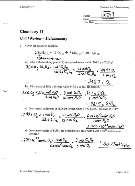 Chemistry Percent Yield Worksheet Free Worksheets Library