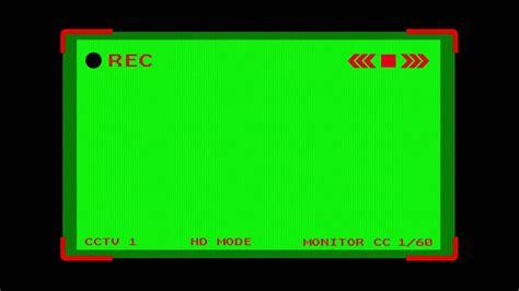 green screen cctv camera rec mode  footage stock