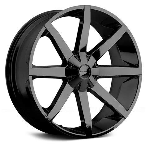 kmc 174 km651 slide wheels gloss black rims