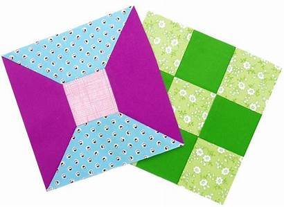 Block Spool Quilt Inch Quilts Templates Traditional