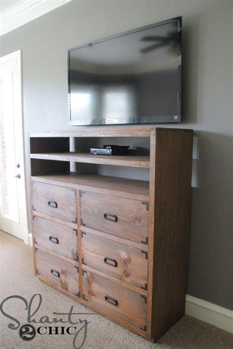 how to make a dresser diy media storage dresser shanty 2 chic