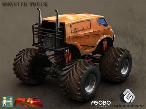 next monster truck show 24seven3d art outsourcing services