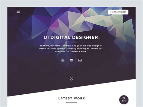 inspiring hero image design concepts bashooka