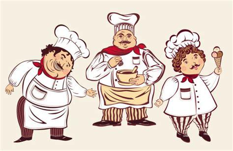 dessin cuisine 3d personnages de dessins anims cuisinier 02 vecteur