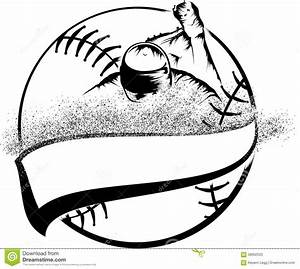 Baseball Head First Slide Stock Vector - Image: 58062523