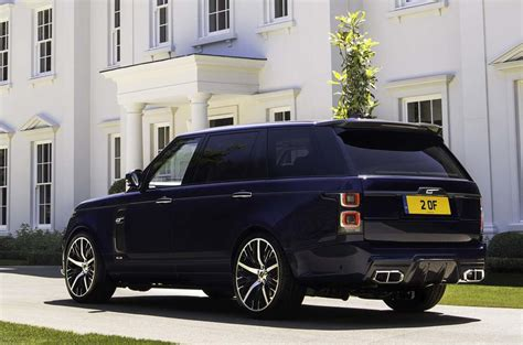 overfinch range rover adds carbonfibre  ostrich